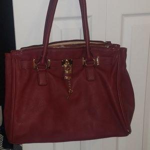 Red Aldo purse
